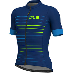 Alé Cycling Solid Ergo SS Jersey Men blue-flou green